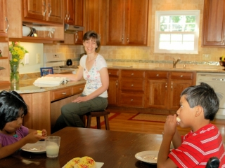 Enlarged Kitchen Provides Improved Family Space in Upper Arlington, OH