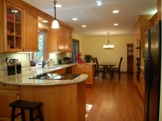 Expanded Kitchen for Improved Living in Worthington, OH