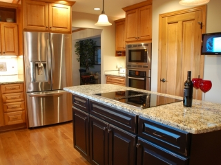 From Builder Grade Kitchen to Designer Cabinets and Accessories