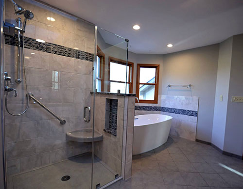 Bathroom Remodel In Columbus Ohio Kresge Contracting - Bathroom remodel schedule